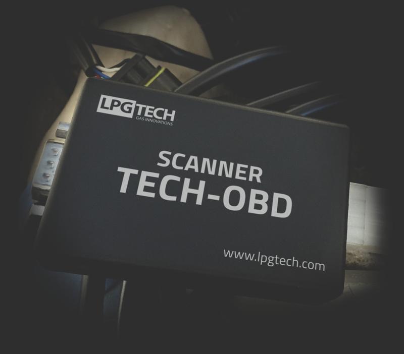 Scanner TECH-OBD